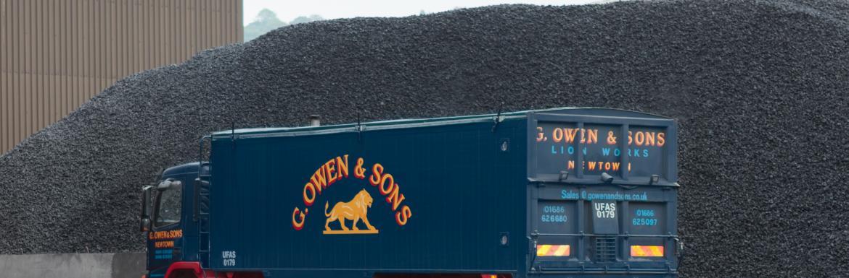 G Owen & Sons Lorry